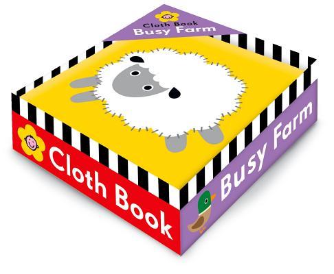 Busy Farm Cloth Book By Priddy, Roger
